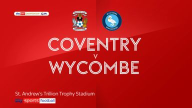 Coventry 0-0 Wycombe