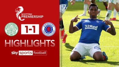 Celtic 1-1 Rangers