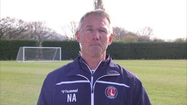 Adkins promises 'bright future' for Charlton