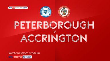 Peterborough 7-0 Accrington