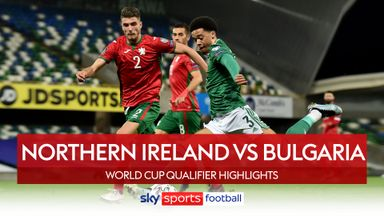 Northern Ireland 0-0 Bulgaria