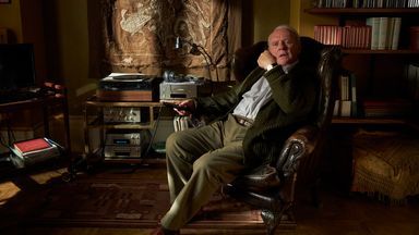 Anthony Hopkins in The Father. Pic: Lionsgate