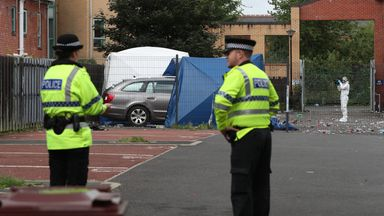 Two men died after a shooting in Moss Side in Manchester in June
