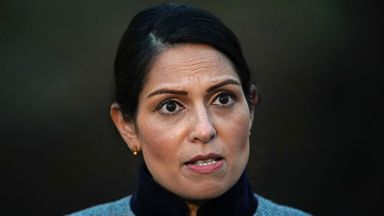 File photo dated 28/1/2021 of Priti Patel. A union representing senior public servants is set to go to court to challenge Boris Johnson's decision to stand by the Home Secretary following a bullying furore. The FDA union has started a judicial review to