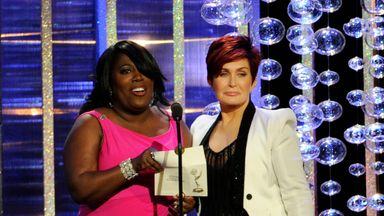 Osbourne clashed with fellow presenter Sheryl Underwood. Pic: AP