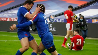 Wales was denied a Grand Slam by the French