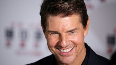 Cast member Tom Cruise attends a news conference promoting his upcoming film
