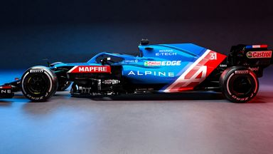 Alpine join F1 grid with new car revealed!