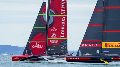 Defenders start America's Cup with victory