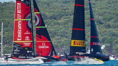 New Zealand take race seven