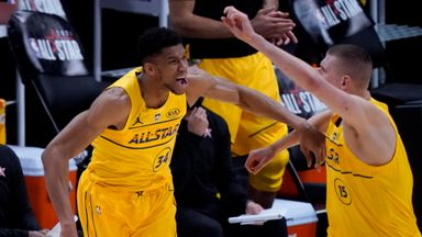 Plays of the Night: NBA All-Star Game