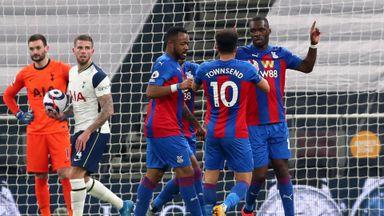 HT Tottenham 1-1 Crystal Palace