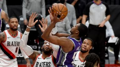 NBA Wk11: Kings 119-123 Trail Blazers