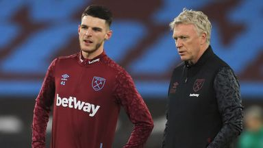 Moyes hoping for imminent Rice return
