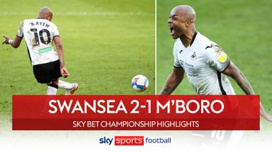 Swansea 2-1 Middlesbrough