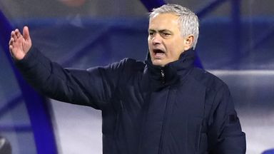 Is Mourinho's Spurs sacking purely results-based?