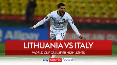 Lithuania 0-2 Italy