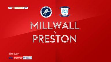 Millwall 2-1 Preston