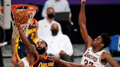 NBA Wk10: Warriors 91-117 Lakers