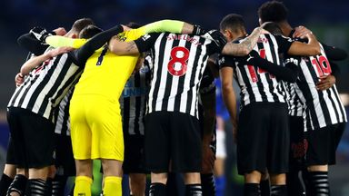 'Newcastle players won't give up in relegation fight'