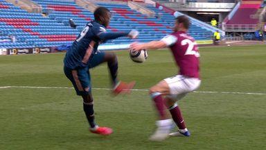 Arsenal denied Pieters penalty