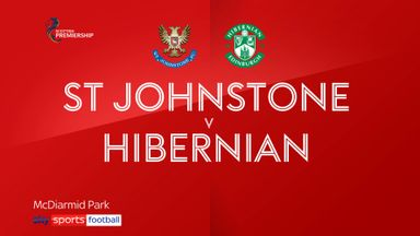 St. Johnstone 1-0 Hibernian