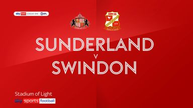 Sunderland 1-0 Swindon
