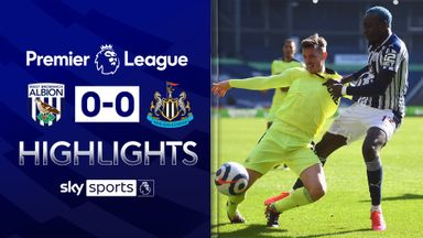 West Brom, Newcastle play out stalemate