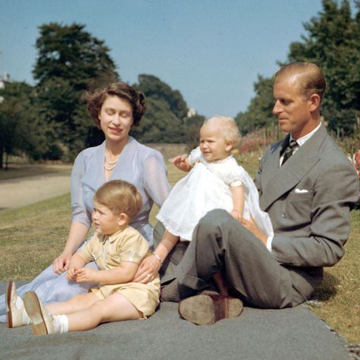 Touching family photos, royal tours and meeting presidents and popes - Philip's extraordinary life