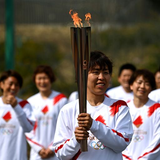 COVID-19: World's oldest person pulls out of Tokyo 2020 Olympics torch relay over virus fears