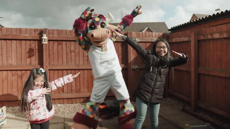 Perry the Bull: Mascot revealed for Birmingham 2022 Commonwealth Games  