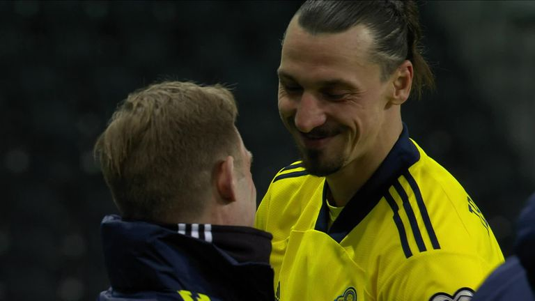 Ibrahimovic says he can still do the 'ninja stuff' after he marked his return to international football with an assist as Sweden beat Georgia in their opening World Cup qualifier