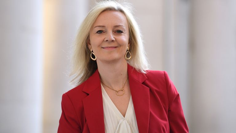 File photo dated 22/09/2020 of International Development Secretary Liz Truss who has suggested more of the most vulnerable members of the public could die if teachers are moved up the vaccination priority list. Issue date: Sunday January 31, 2021.