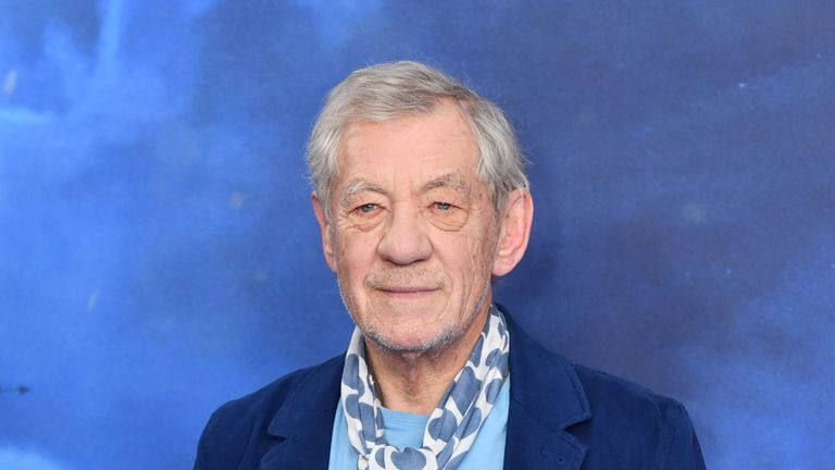 Sir Ian McKellen attending the Cats Photocall held at The Corinthia Hotel, London.