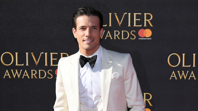 Danny Mac attending the Olivier Awards 2017, held at the Royal Albert Hall in London.