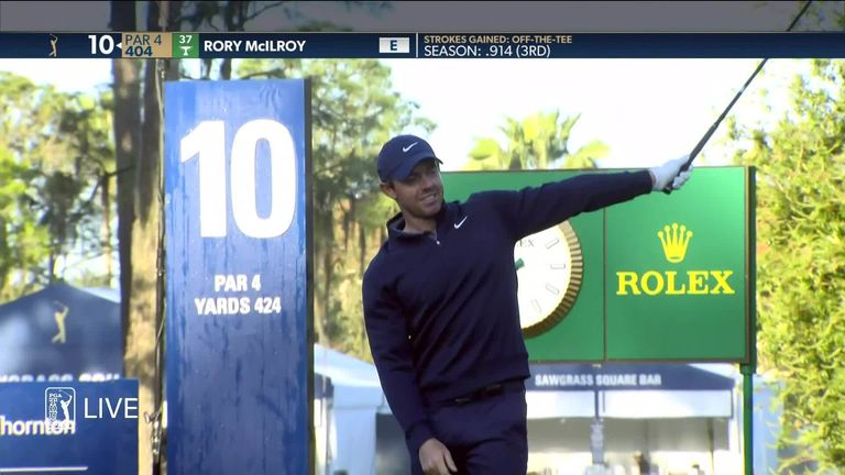 Rory McIlroy's title defence got off to a nightmare start at The Players, as the 2019 champion double-bogeyed his opening hole of the tournament