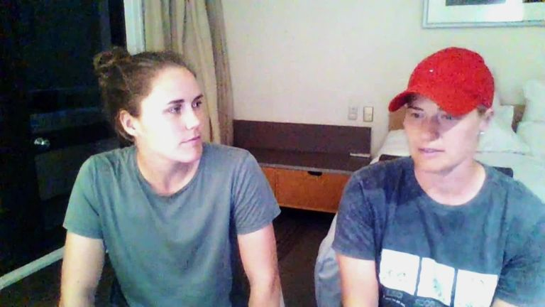 Brunt says her England team-mates have been incredibly supportive of her relationship with Sciver