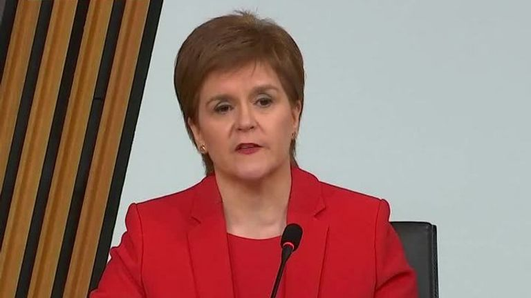 First Minister of Scotland apologises to two complainants and taxpayers over 'mistake'