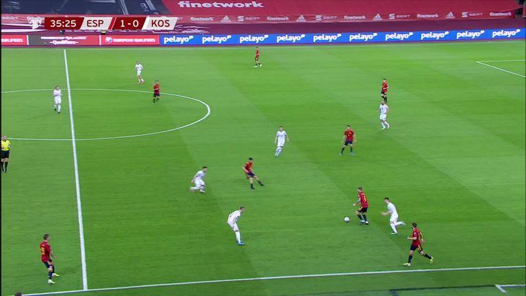 Torres doubles Spain's lead