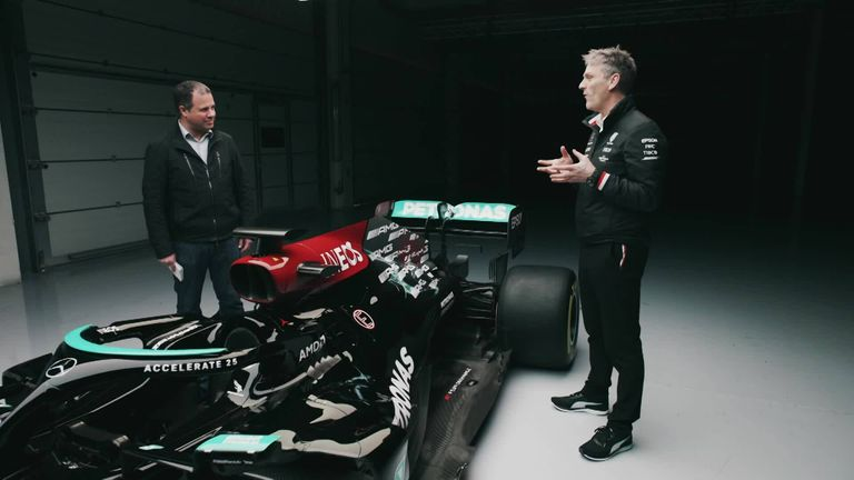 The Mercedes W12 explained: Extended Cut | Video | Watch TV Show | Sky  Sports