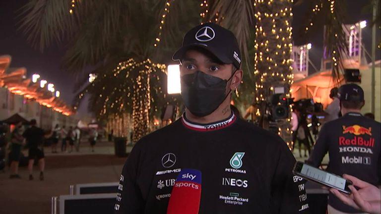 Lewis Hamilton feared bigger gap to Max Verstappen at Bahrain GP – as Red Bull