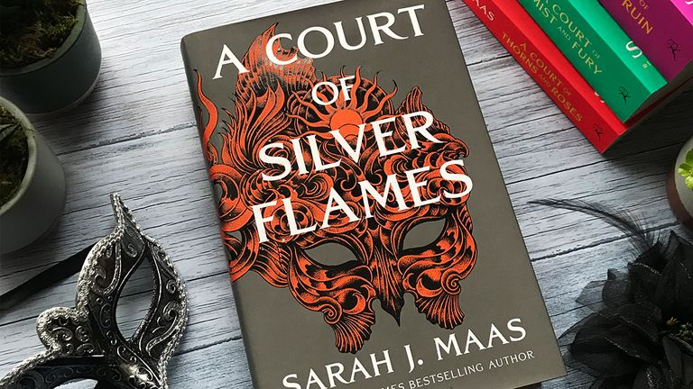 A Court of Silver Flames - handout from publisher Bloomsbury