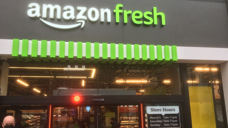Amazon Fresh in Ealing