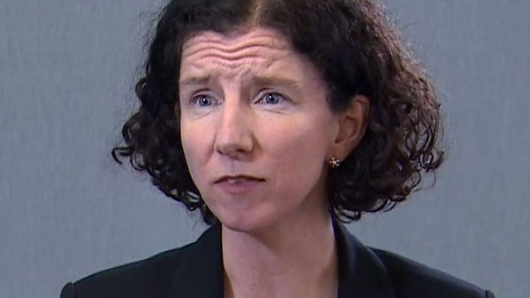 Anneliese Dodds speaks to Sky News ahead of Rishi Sunak's budget