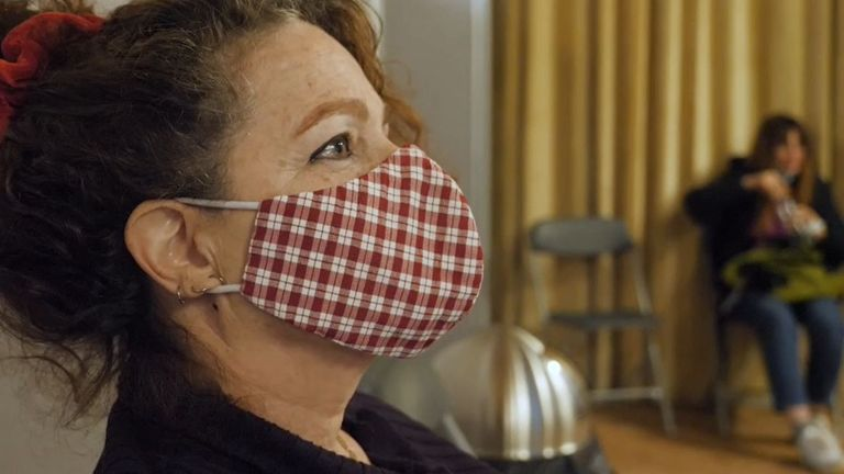 Muriel Elkaim was given the AstraZeneca vaccine in Paris and has no regrets