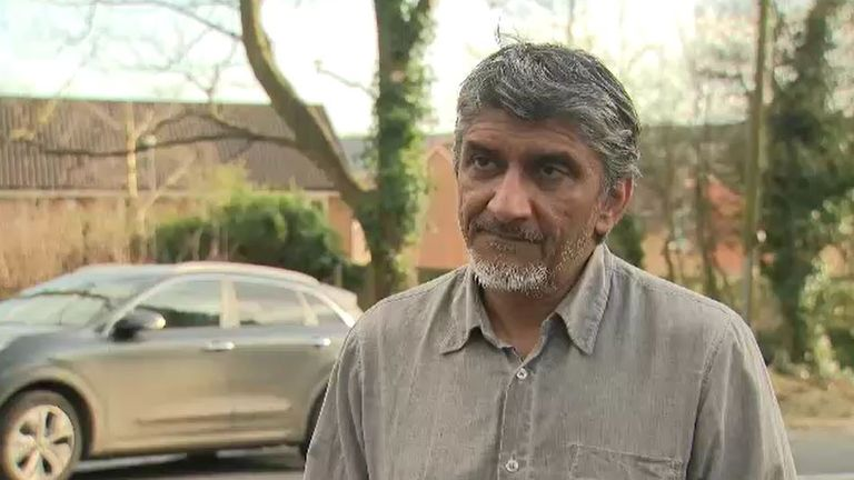 Yunus Lunat, member of a local mosque in Batley, told Sky News the teacher 'went off script'