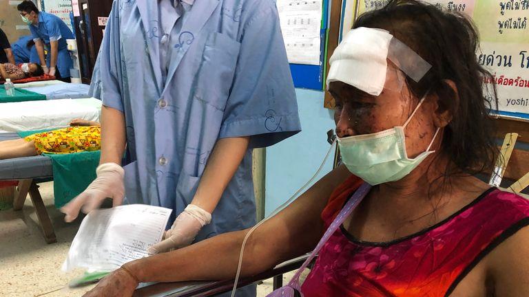 Bea Tu در بیمارستانی در تایلند تحت درمان است