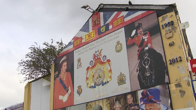 In the Shankill Road area, people are fiercely loyal to the Queen here but equally critical of her government