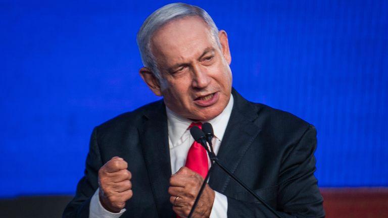 Israeli Prime Minister Benjamin Netanyahu. Pic: AP