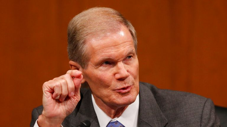 Senate Finance Committee member Sen. Bill Nelson, D-Fla., speaks during a hearing regarding health care reform, on Capitol Hill in Washington, Tuesday, Oct. 13, 2009. (AP Photo/Charles Dharapak)